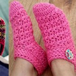 Crochet slippers: 10 free patterns