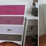 Painted drawers makeover