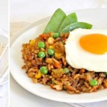 Weeknight meal: Fried rice