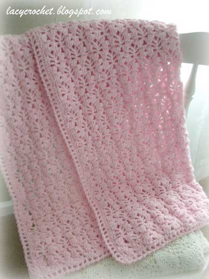 crochet-blanket-lacy