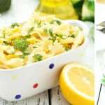 Broccoli and lemon pasta