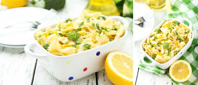 Broccoli-lemon-pasta