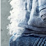 Make a simple linen scarf