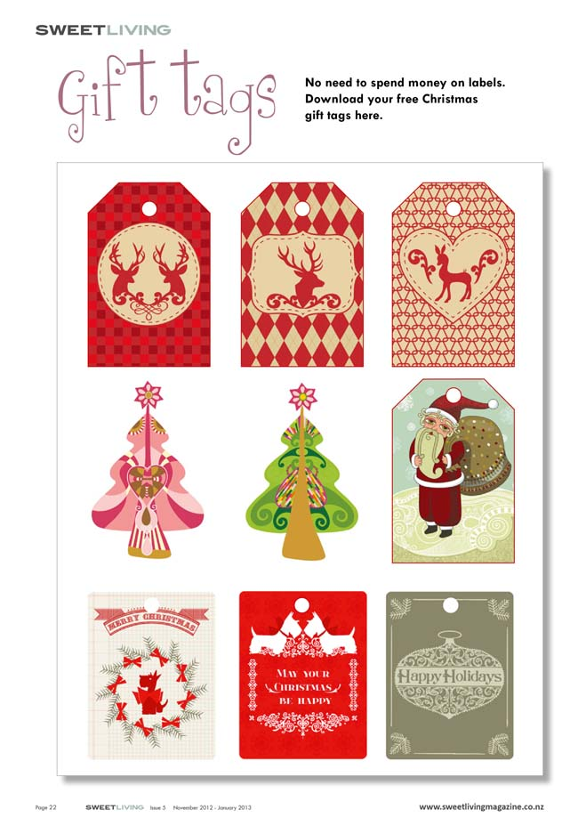 picture regarding Free Printable Christmas Name Tags named No cost printable present tags