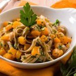Sausage & butternut squash pasta – $5 meal