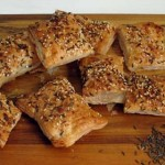 Quick snack: Caraway puffs