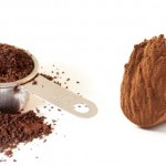 Chocolate and coffee face mask