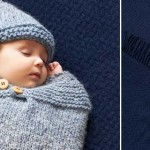 Knit a baby cosy and hat - DIY tutorial