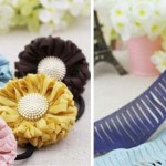 DIY flower hairbands