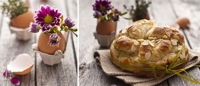 Sweet Easter bread recipe