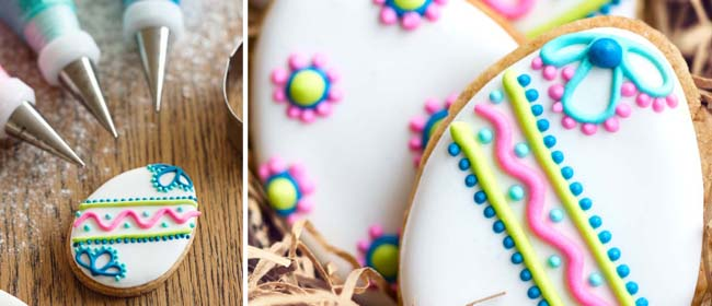 Easter cookie recipe and icing ideas