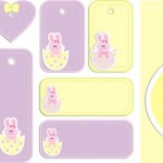 Free printable Easter gift tags and bunny mask