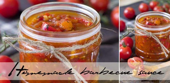 Homemade barbecue sauce