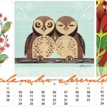 Free owl calendar download