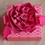 DIY paper roses and peony
