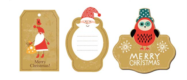 image regarding Printable Christmas Tag referred to as Totally free printable present tags