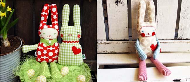 DIY craft bunnies