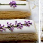 Icing tutorial, lavender flowers