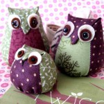 Handmade gifts: toy owl
