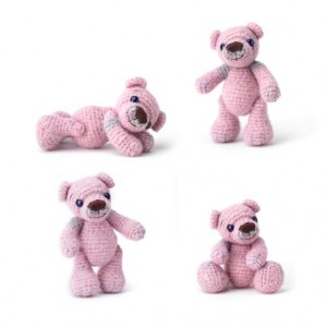 Crochet teddy bear DIY